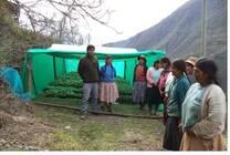 capacitación  en vivero comunal de laqueque Iguara