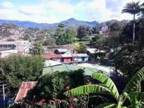 Vista del Cerro San Salvador 1228msnm desde las oficinas de CISA AMERCON, Matagalpa.