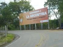 Ingreso Al Municpio de la Argentina
