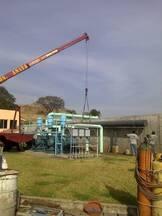 INSTALACION DE TUBERIAS EN OLANTA TRATADORA