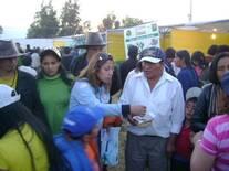 Producción de Stevia, exposición en la Feria de yauris de Huancayo