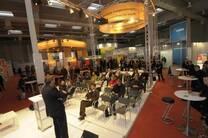 Un de los pabellones en la feria de EnergyDecentral 2012 (última edición)