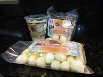Vipraca, huevos de codorniz listos para comer