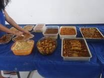 almoço realizado todos os meses no grupo