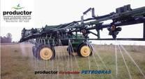 Aplicación de fertilizantes líquidos.