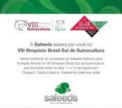 Simpósio Brasil Sul de Suinocultura.
