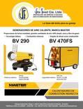 Generadores de aire caliente a diesel
