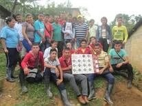 capacitación estudiantes media técnica sobre cultivo de cafe