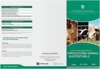 Programa de Especialidad y Maestría en Producción Animal Sustentable
