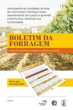 Boletim da Forragem - Mais informações forragem@pecege.esalq.usp.br