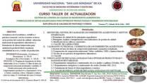 CURSO TALLER DE ACTUALIZACION