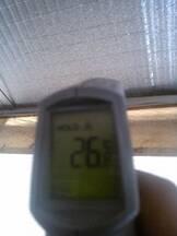 Temperatura excelente con este material de aislamiento
