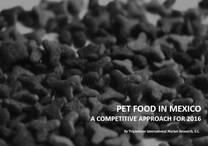 Pet food en Mexico 2016