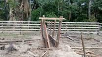 En la construcción del brete