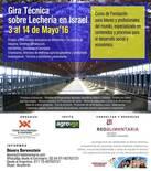 GIRA TÉCNICA sobre Lechería en Israel en Español 3 al 14 de Mayo 2016