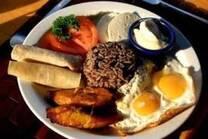 """Cuando Ingrese a Nicaragua disfrute de un exquisito desayuno Nicaraguense el """" Gallo Pinto"""""""