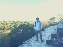 En la cima del Templo