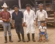Con amigos productores. Jesus Carranza, Ver.