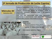 2a Jornada de Producción de Leche Caprina