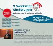 V Workshop SINDIAVIPAR de Avicultura