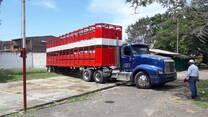 Jaula doble piso para trasporte de ganado