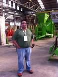 Visita a industria productora de implementos agricolas en Argentina