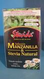 MANZANILLA & STEVIA NATURAL (nuevo empaque)