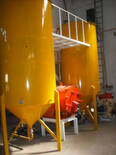 Eliminado de impurezas y desgomado neutralizado de aceite  por centrifugacion