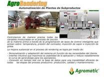 AUTOMATIZACION DE PLANTAS DE SUBPRODUCTOS