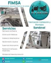 Fabricación Instalación y Montajes Sandoval