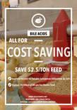 ¡Los ácidos biliares son su mejor opción para ahorrar costos!