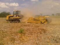 Preparación del terreno para siembra de silo de maíz
