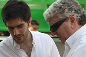 Con Rubén en el lanzamiento