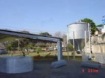 Módulo avícola con silo ganjero de 10Ton.