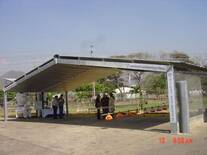 Módulo Avícola de 12,72mt de luz entre columnas y 6mt de distancia entre pórticos