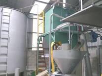 Primer prensado y tanques de aceite de soja