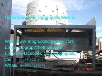 DESPLUMADORA MANUAL EN INOXIDABLE (TIPO OLLA)