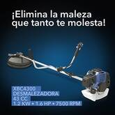 Fumitienda vende Desmalezadora Muzin 43cc 1.2Kw 1.6Hp 7500Rpm