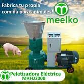 Peletizadora Meelko 200 mm 15 hp PTO para concentrados balanceados 300 - 600 kg hora MKFD200B