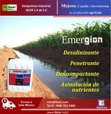 """MEJORADOR DE SUELO AGRÍCOLA """"EMERGION"""""""