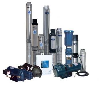 Bombas sumergible, centrifugas, solares, motores horizontales y verticales, valvulas.