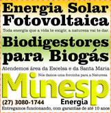 Energia solar e biogás