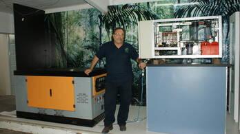 Biodigestor único, productos como fertilizante liquido, Humus salida exportable y biogas de alta cal