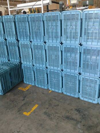 caja de plastico uso agricola