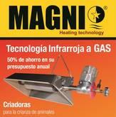 Criadoras infrarrojas a Gas