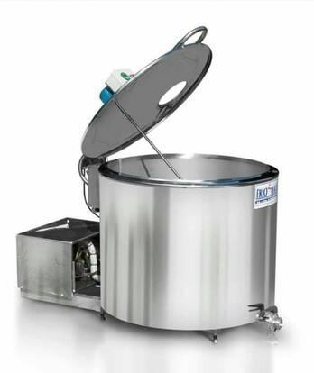 Tanques de enfriamiento y almacenamiento de leche