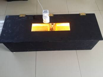 Incubadora y nacedora Automatica Alis 100 Sistema profesional Compacto