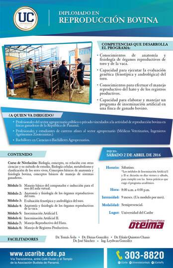 Diplomado en Reproducción Bobina UC.Panama
