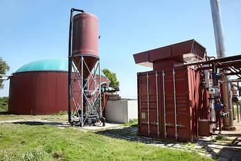 Biodigestor para planta de Biogas en Tambo o feedlot