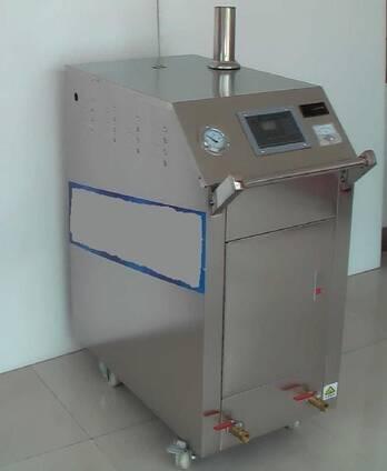 Caldera para limpieza y desinfección a vapor de corrales y remolques